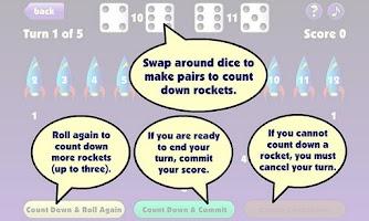 Screenshot of Countdown Dice