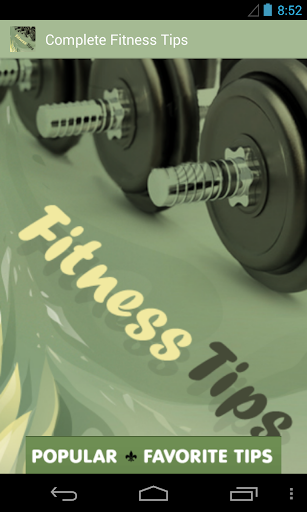 Complete Fitness Tips