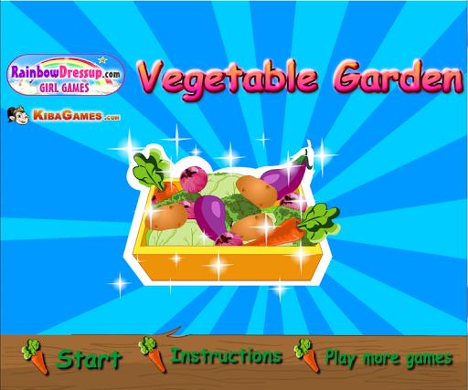 เกมส์ปลูกผักสวนสวย