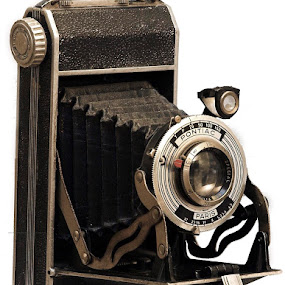 My First Camera by Pete Bobb - Artistic Objects Antiques ( manual, camera, france, accordian, 120 film camera,  )