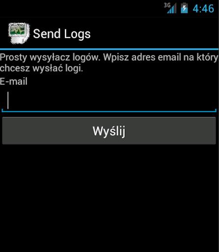 Simple Log Sender