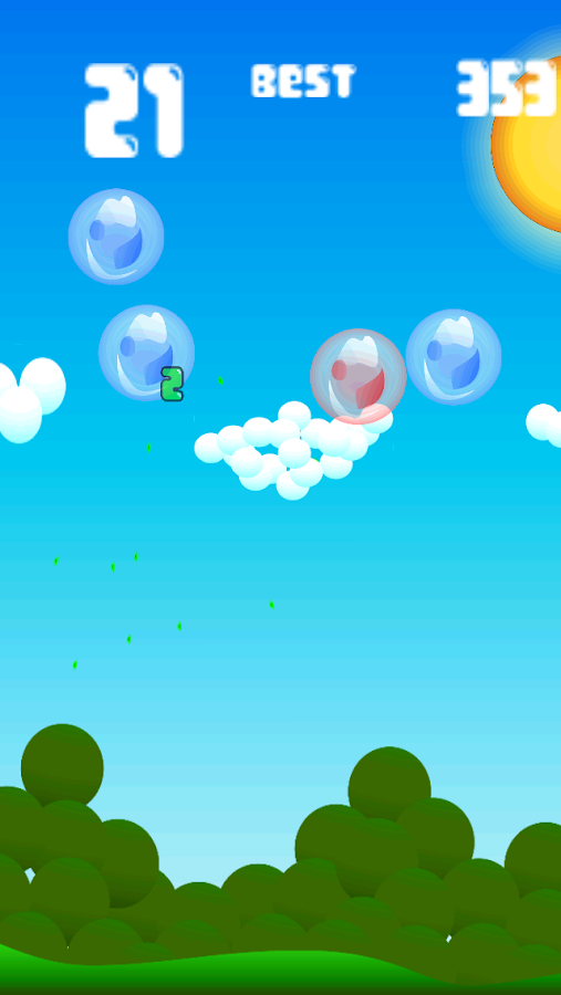 Spubble- screenshot