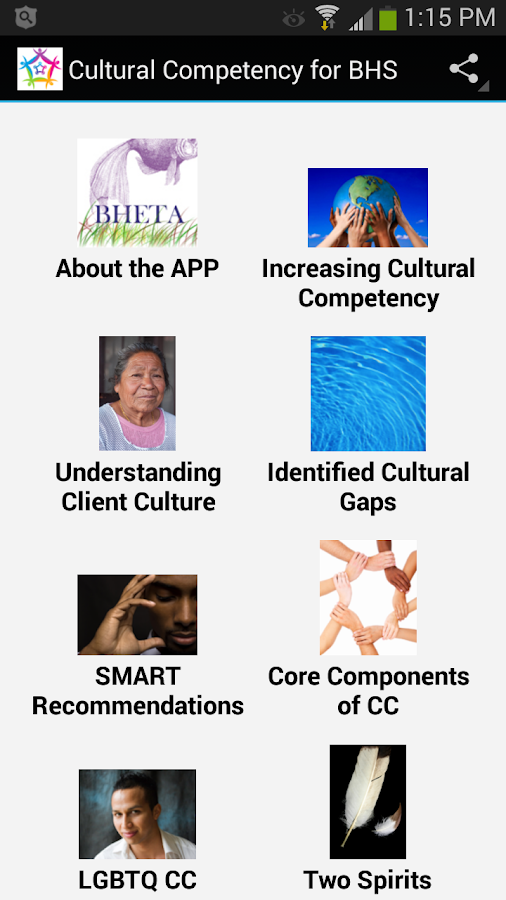 Cultural Competency for BHS- screenshot