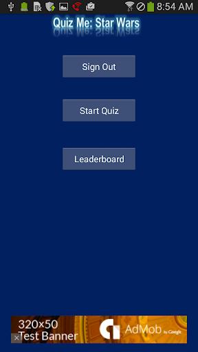 Quiz Me: Star Wars