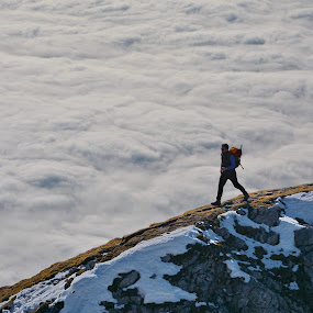 Walking above clouds by Zoran Stanko - Sports & Fitness Other Sports