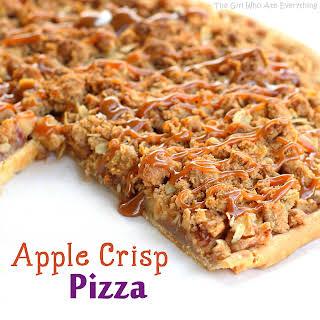 Apple Crisp Pizza.