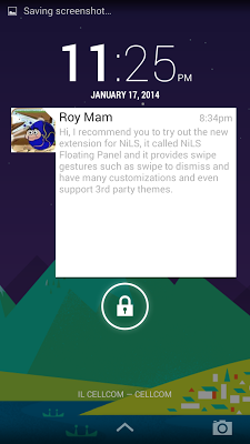 NiLS Theme - Hangouts - screenshot