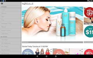 Screenshot of Nzsale
