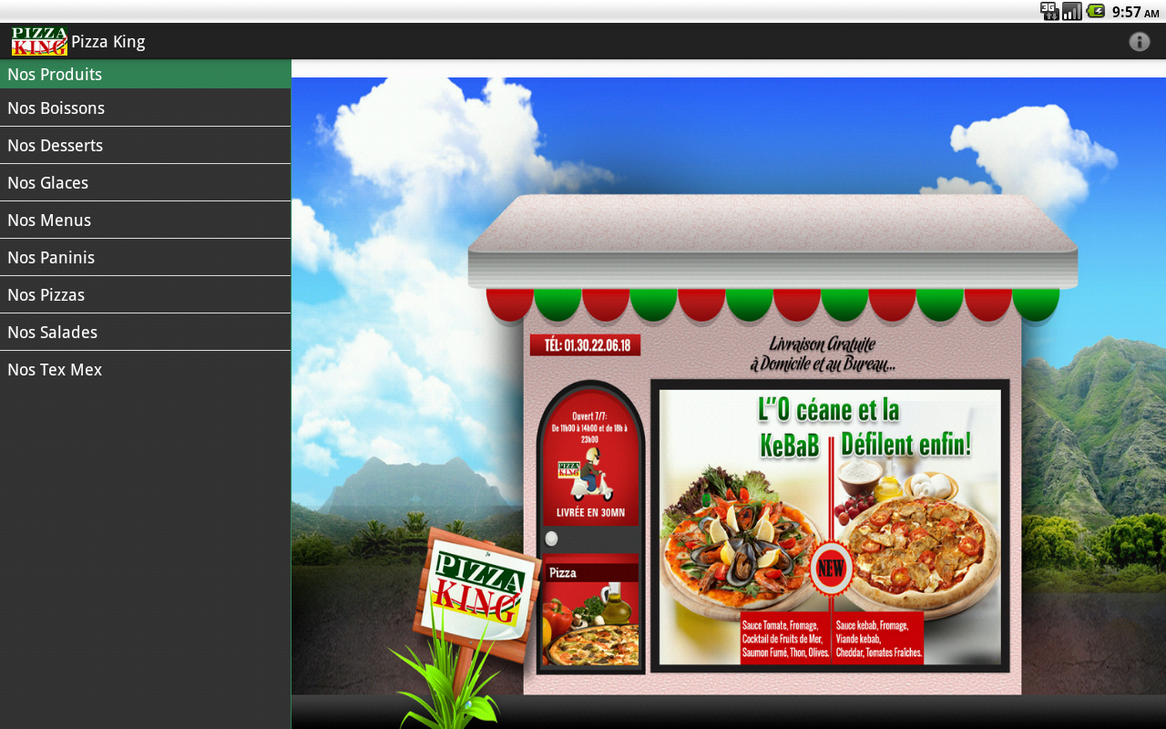 pizza king seaford de application
