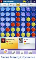 Screenshot of Connect Four Online