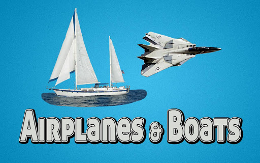 Airplanes Boats App - Free