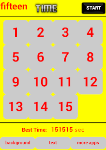 fifteen Puzzle 15