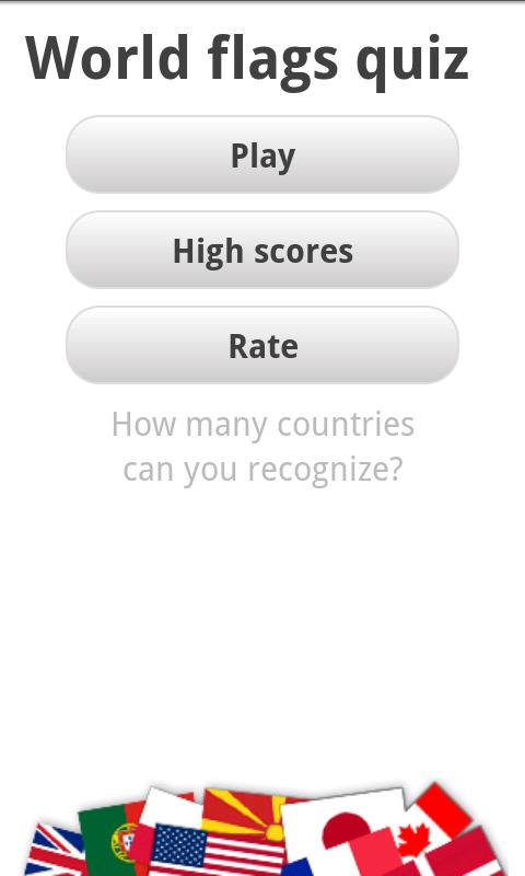 Logo Quiz - World Flags - screenshot
