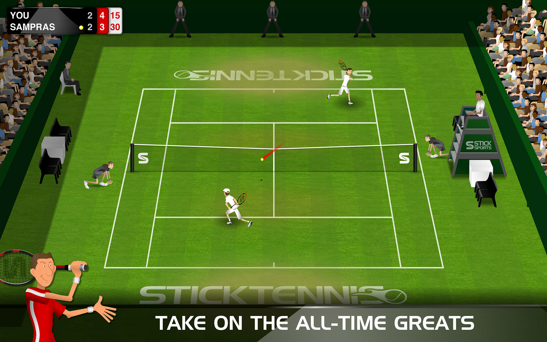 Stick Tennis screenshot #12