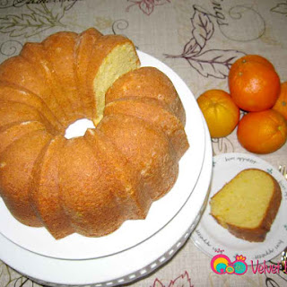 "Orange ""Bundt"" Cake Recipe"