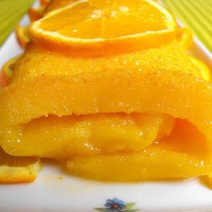 Orange Pastry Roll