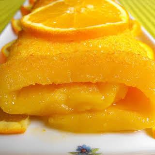 Orange Pastry Roll.