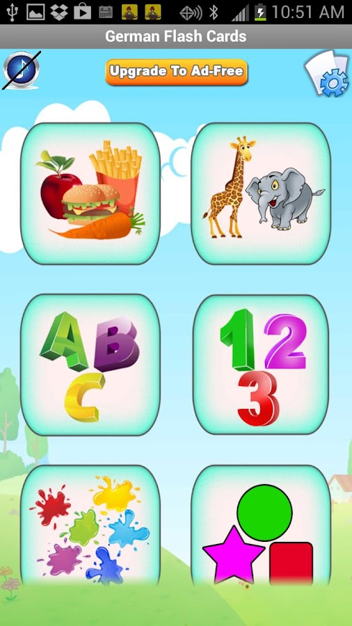 German Flash Cards for Kids Android Apps on Google Play