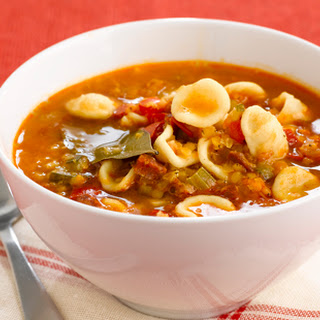Orecchiette And Tomato Soup