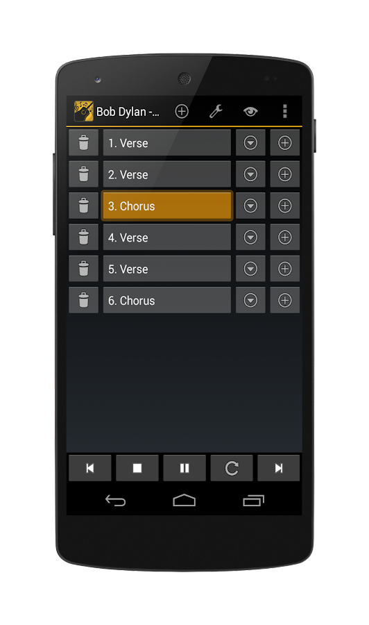 Chords Player- screenshot