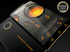 Screenshot of Steampunk Orange - Next Theme