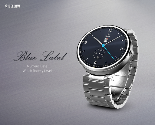 Blue Label watchface by Bellow