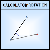 Coordinates calculate Rotation