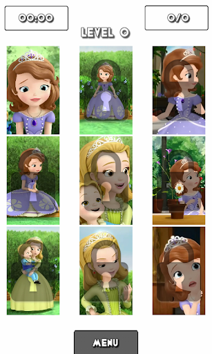 Princess the Girl Puzzle Game