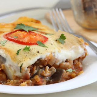 Vegetable Moussaka Casserole.