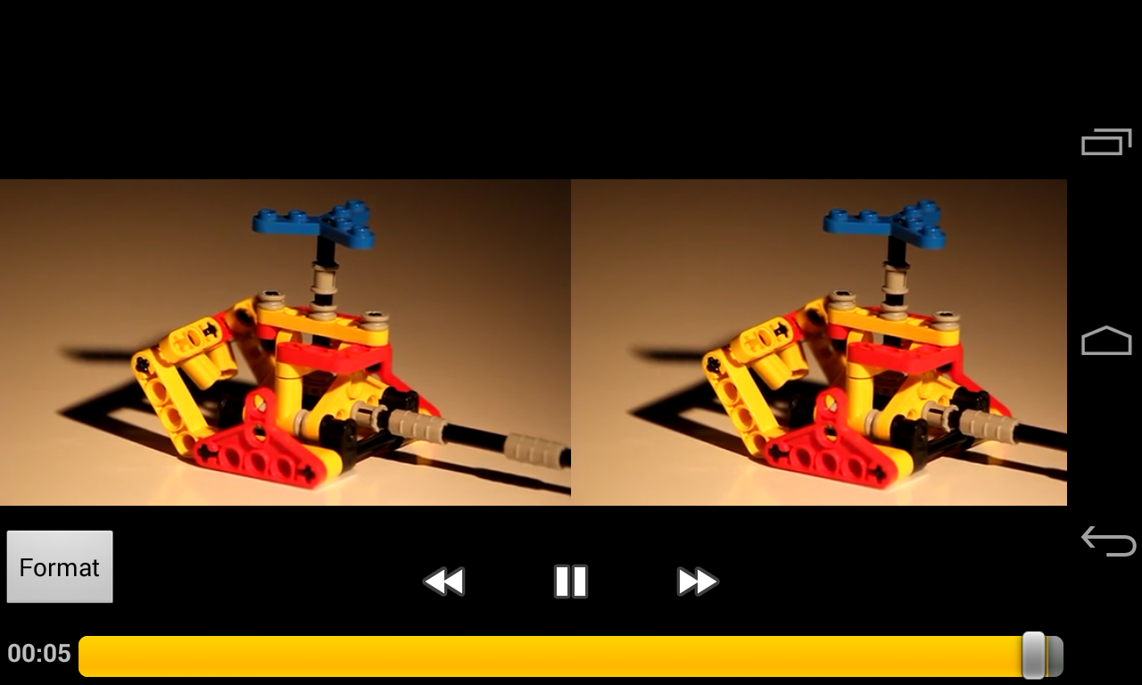 Side-By-Side Video Player- screenshot