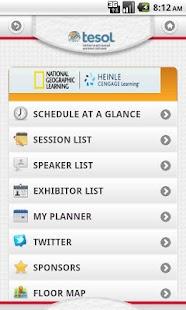 TESOL 2013 - screenshot thumbnail