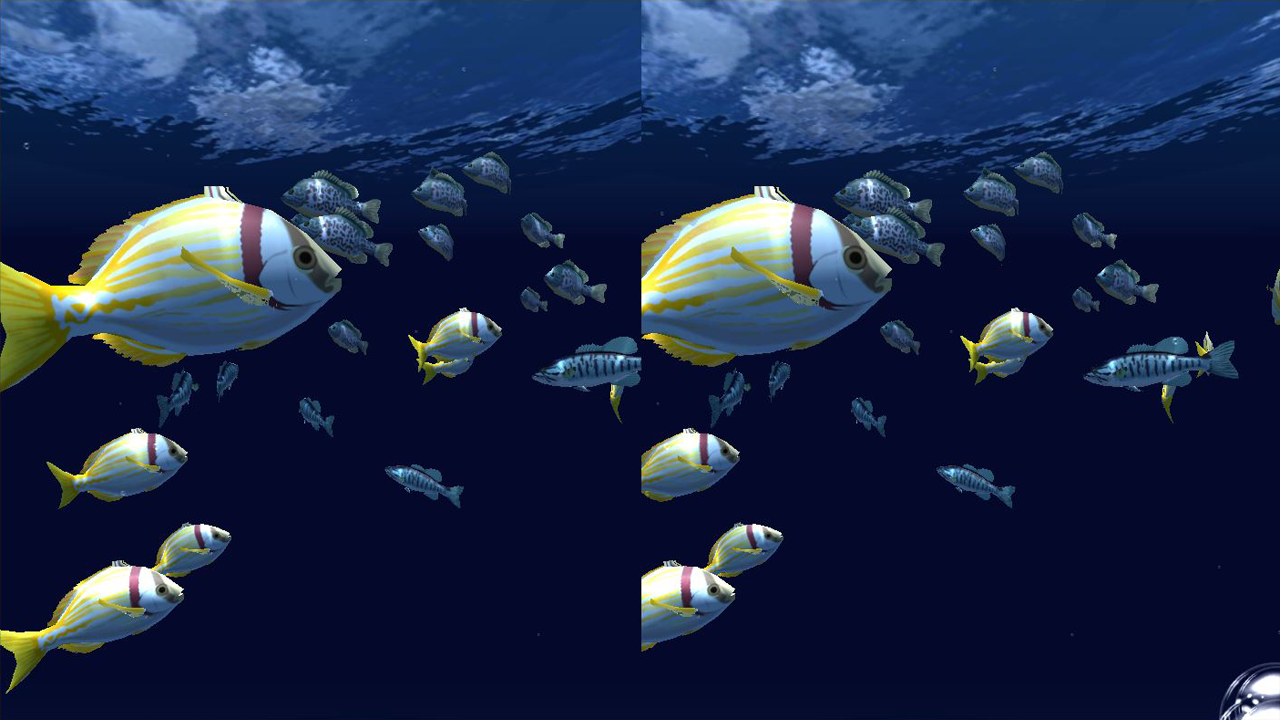 Fish Schooling VR- screenshot