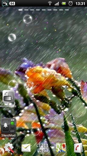 雨 動態壁紙