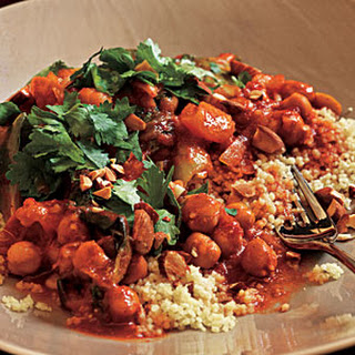 Spicy Moroccan Chickpeas.
