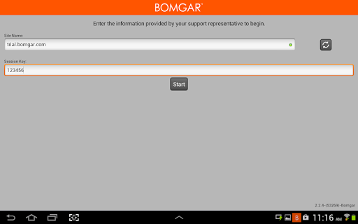 Bomgar for Samsung