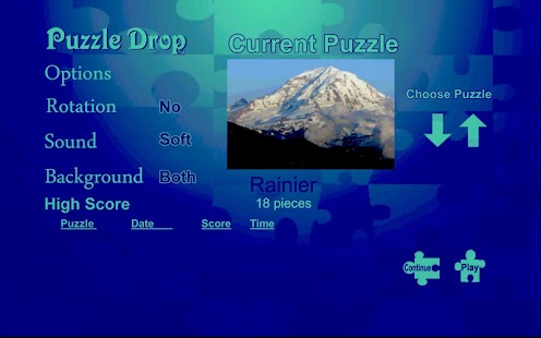 Puzzle Drop - Mountain Set - screenshot thumbnail