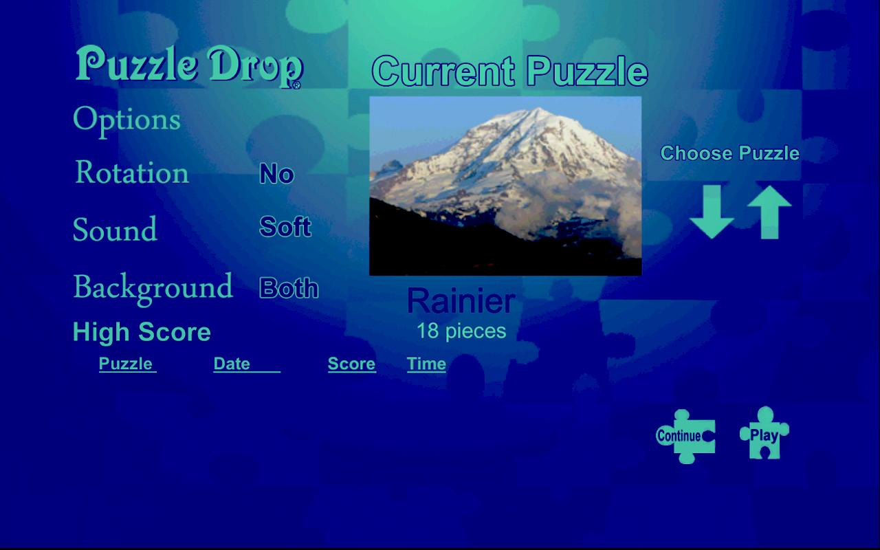 Puzzle Drop - Mountain Set- screenshot