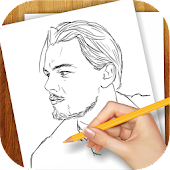 Learn to Draw Popular Actors
