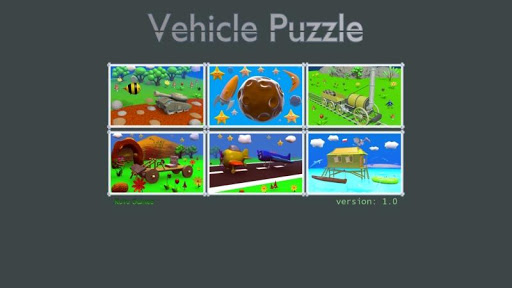 Vehicle Puzzle - Best For Kids