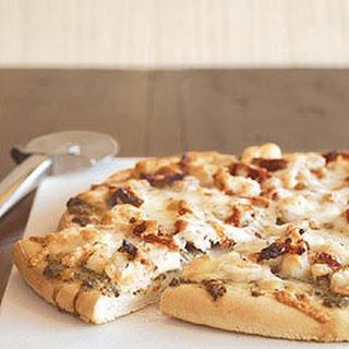 Shrimp & Pesto Pizza