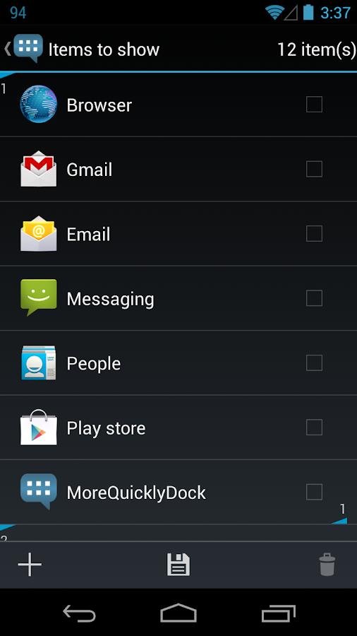 MoreQuicklyDock - screenshot