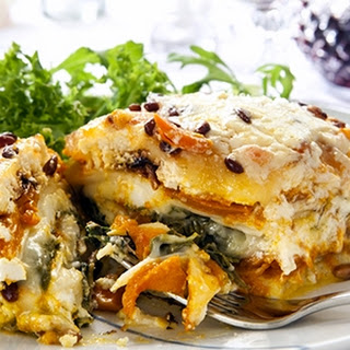 The Spinach Butternut Squash Lasagna