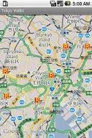Screenshot of Tokyo Walks