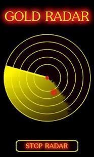 Gold Radar Scanner Prank - screenshot thumbnail