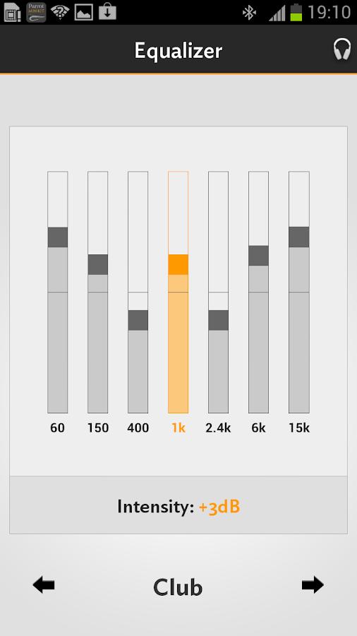Parrot Audio Suite- スクリーンショット