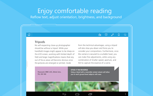 Foxit MobilePDF - PDF Reader- screenshot thumbnail