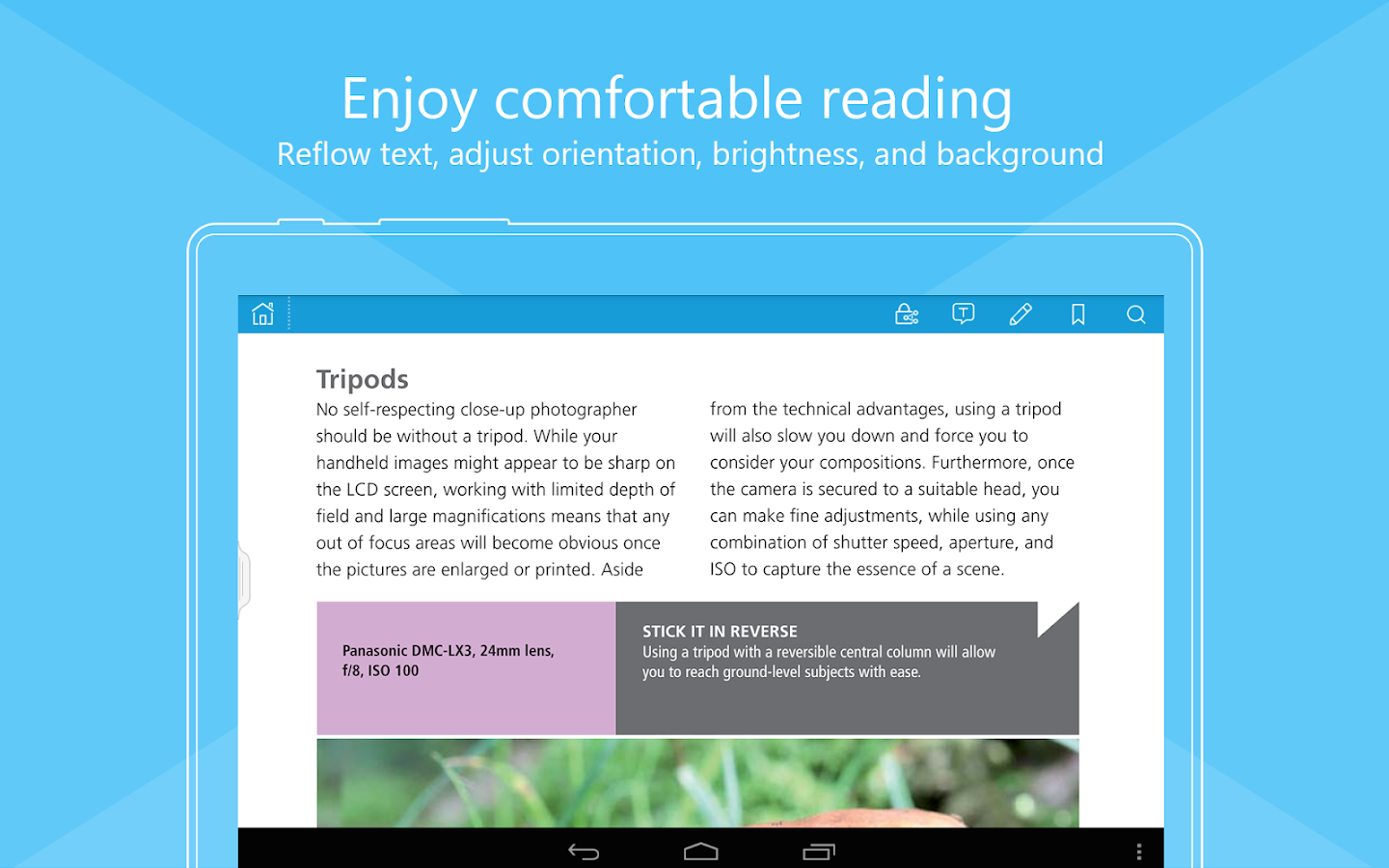 Foxit MobilePDF - PDF reader - screenshot