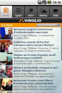 Virgilio - screenshot thumbnail