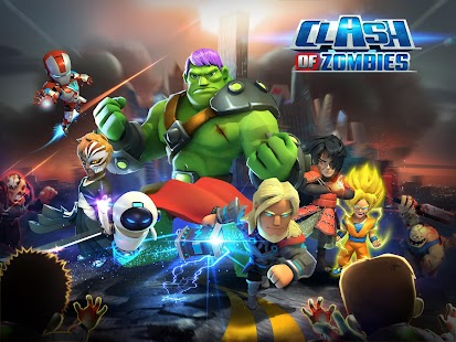 X-War: Clash of Zombies - screenshot thumbnail