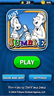 Just Jumble- screenshot thumbnail